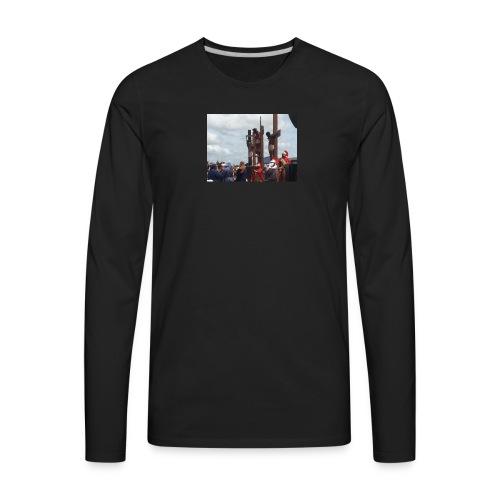 youtube 010 - Men's Premium Long Sleeve T-Shirt
