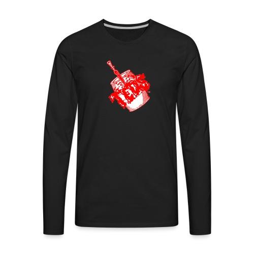 Teds Bar Logo - Men's Premium Long Sleeve T-Shirt