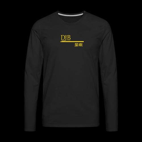 DJB premium (GOLD) - Men's Premium Long Sleeve T-Shirt
