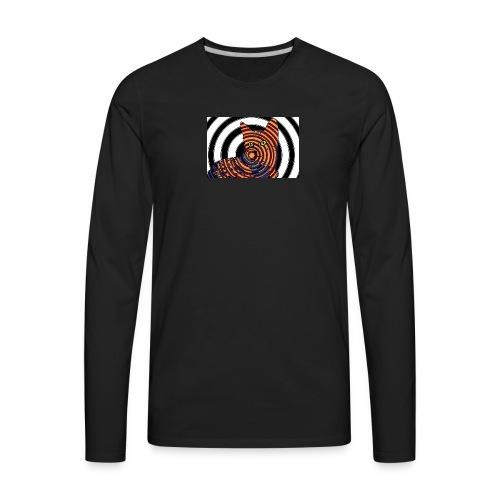Cat Spiral - Men's Premium Long Sleeve T-Shirt