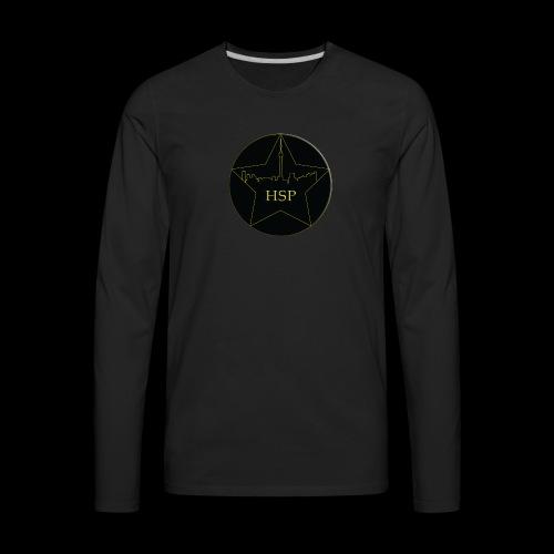 Hitstar Logo - Men's Premium Long Sleeve T-Shirt