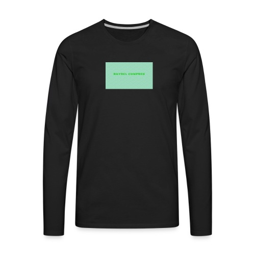 Raydel Compres Green T-Shirt - Men's Premium Long Sleeve T-Shirt