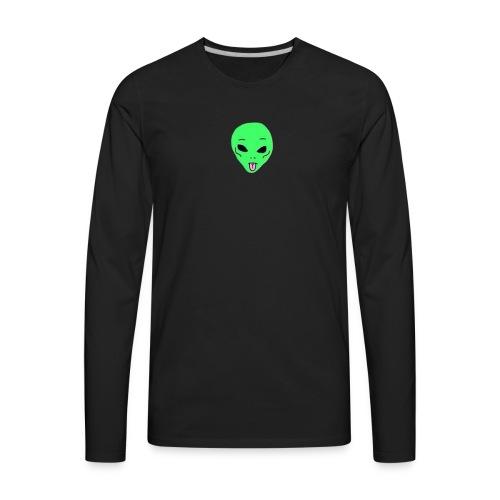 Alien Edits T-Shirt - Men's Premium Long Sleeve T-Shirt