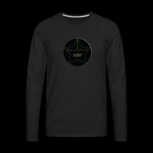 Hitstar Logo - Men's Premium Long Sleeve T-Shirt