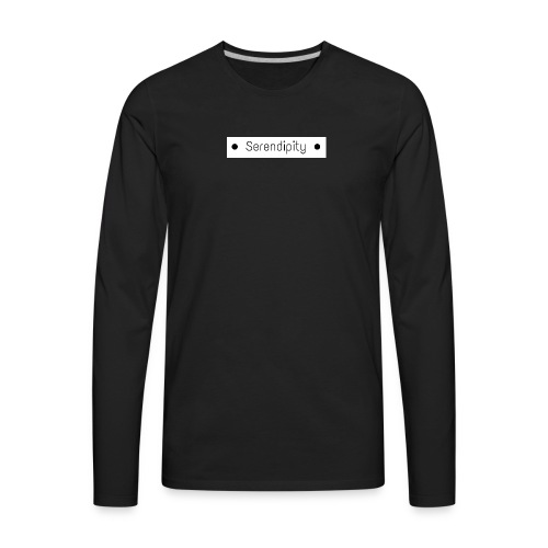Serendipity - Men's Premium Long Sleeve T-Shirt