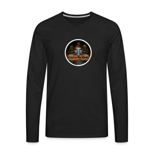 Troll House Games Logo - Men's Premium Long Sleeve T-Shirt