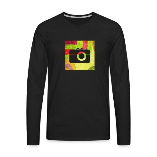 Stylist camera design - Men's Premium Long Sleeve T-Shirt