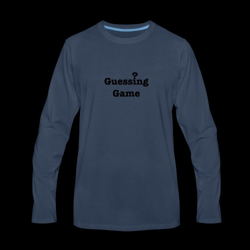 Question - Men's Premium Long Sleeve T-Shirt