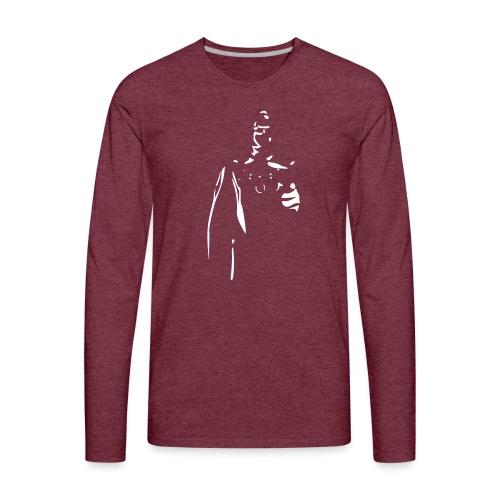 Rubber Man Wants You! - Men's Premium Long Sleeve T-Shirt
