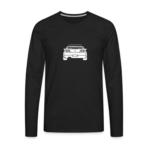 skyline r33 - Men's Premium Long Sleeve T-Shirt