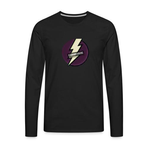 TheStormRaiderz Gear⚡ - Men's Premium Long Sleeve T-Shirt
