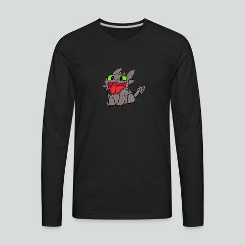 Baby Toothless - Men's Premium Long Sleeve T-Shirt
