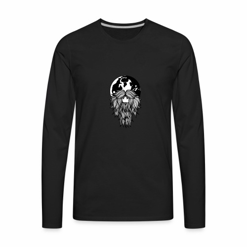 Wanderbeard - Men's Premium Long Sleeve T-Shirt