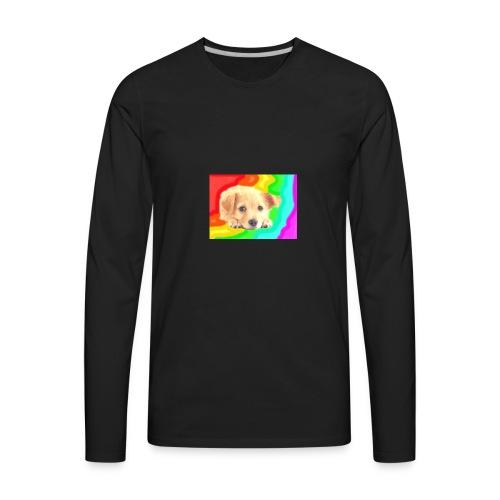 Puppy face - Men's Premium Long Sleeve T-Shirt