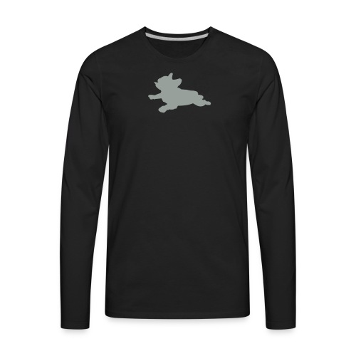Frenchie Mom Sweatshirt - Men's Premium Long Sleeve T-Shirt