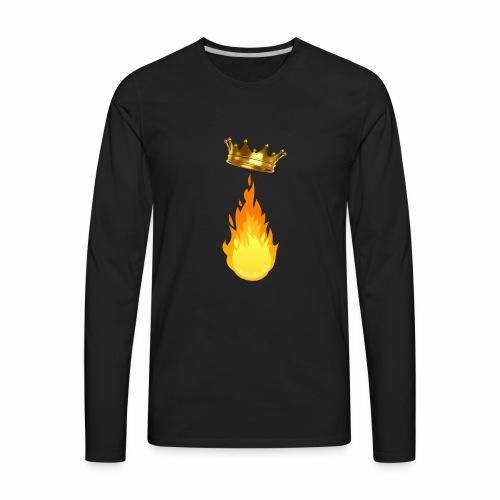 Fire King Playz Merch - Men's Premium Long Sleeve T-Shirt