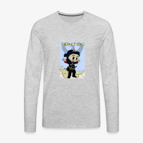 Cartoon - Pontian... fly like an eagle - Men's Premium Long Sleeve T-Shirt