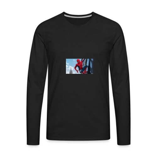 spider man homecoming - Men's Premium Long Sleeve T-Shirt
