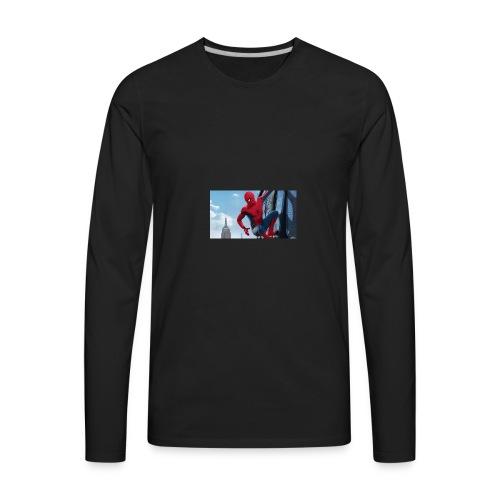 spider man homecoming - Men's Premium Long Sleeve T-Shirt