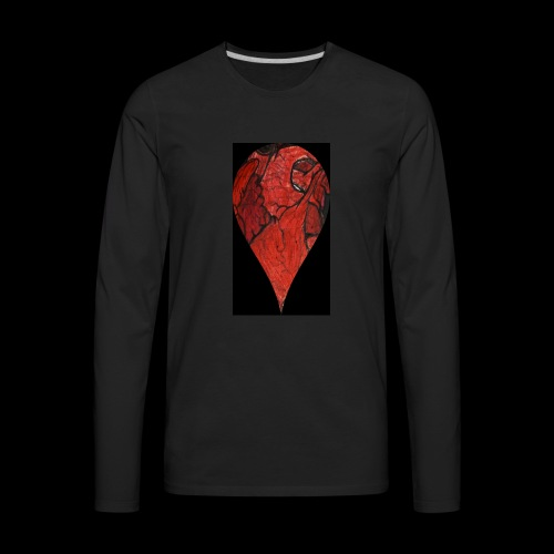 Heart Drop - Men's Premium Long Sleeve T-Shirt