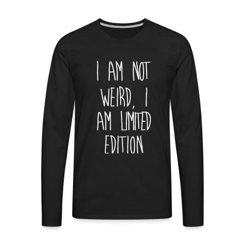 ALPHBT 001 - Men's Premium Long Sleeve T-Shirt