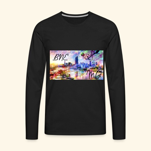 Brisbane love - Men's Premium Long Sleeve T-Shirt