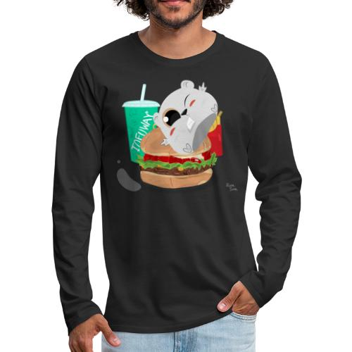 Fast Food Sun - Men's Premium Long Sleeve T-Shirt
