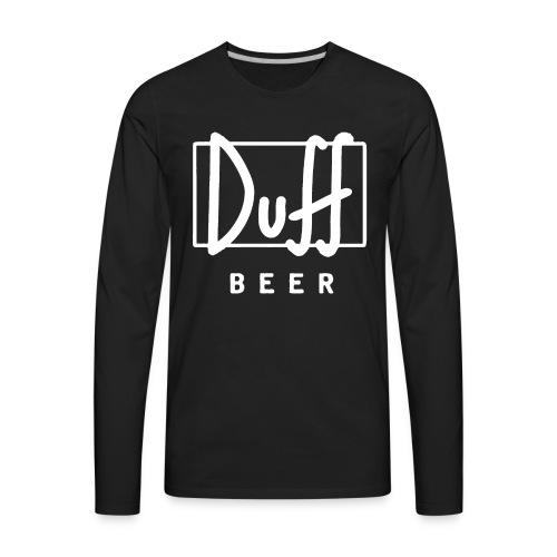 Duff - Men's Premium Long Sleeve T-Shirt