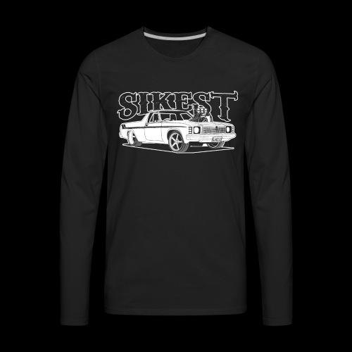 SIKEST - HJ UTE BLOWN BIG BLOCK DESIGN - Men's Premium Long Sleeve T-Shirt