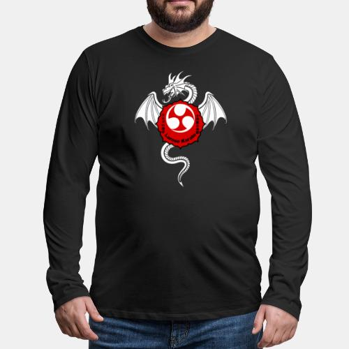 Dragon (W) - Larose Karate - Design Contest 2017 - Men's Premium Long Sleeve T-Shirt