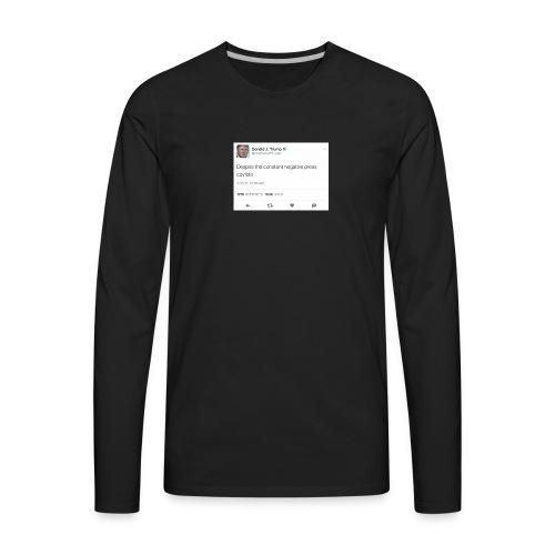 Covfefe Tweet - Men's Premium Long Sleeve T-Shirt
