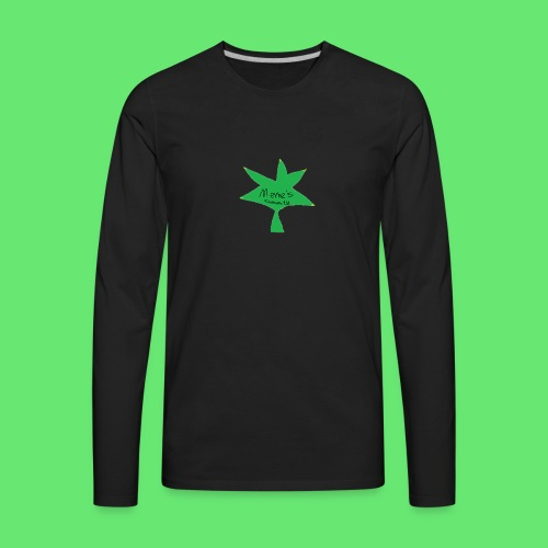 ESCLUSIVE!! 420 weed is coolio for kidlios SHIrT!1 - Men's Premium Long Sleeve T-Shirt