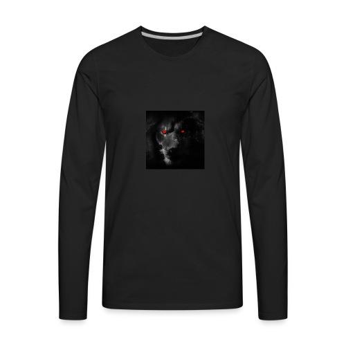Black ye - Men's Premium Long Sleeve T-Shirt
