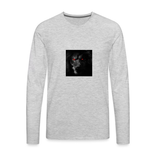 Black ye - Men's Premium Long Sleeve T-Shirt