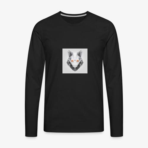 Endless Wolf Logo - Men's Premium Long Sleeve T-Shirt