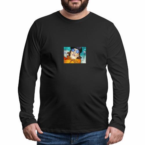 Abstract men's art - Men's Premium Long Sleeve T-Shirt