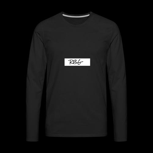 RBG - Men's Premium Long Sleeve T-Shirt
