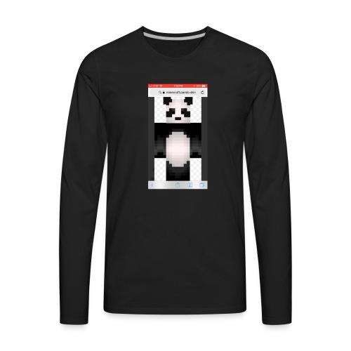 Pandagaming.com - Men's Premium Long Sleeve T-Shirt