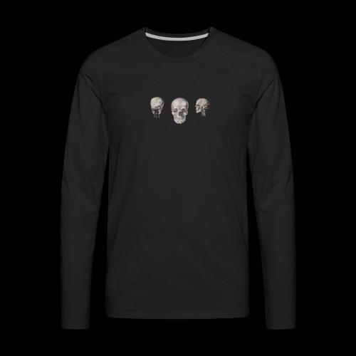 3skulls - Men's Premium Long Sleeve T-Shirt