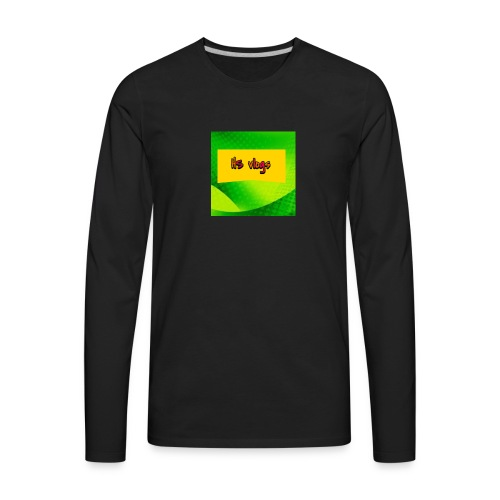 kids t shirt - Men's Premium Long Sleeve T-Shirt