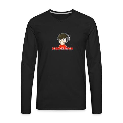 Official 80HD-Ryan Logo Merch - Men's Premium Long Sleeve T-Shirt