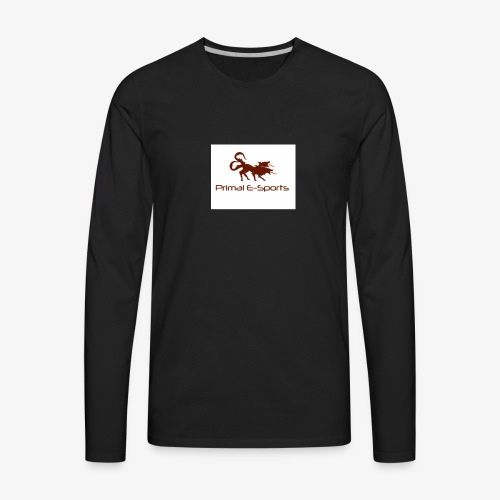 Primal Esports V1 - Men's Premium Long Sleeve T-Shirt