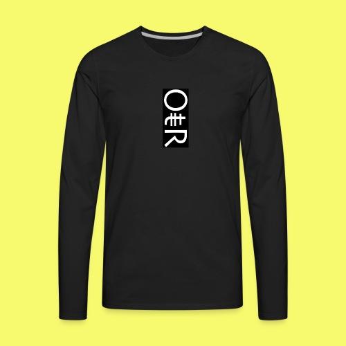 OntheReal coal - Men's Premium Long Sleeve T-Shirt