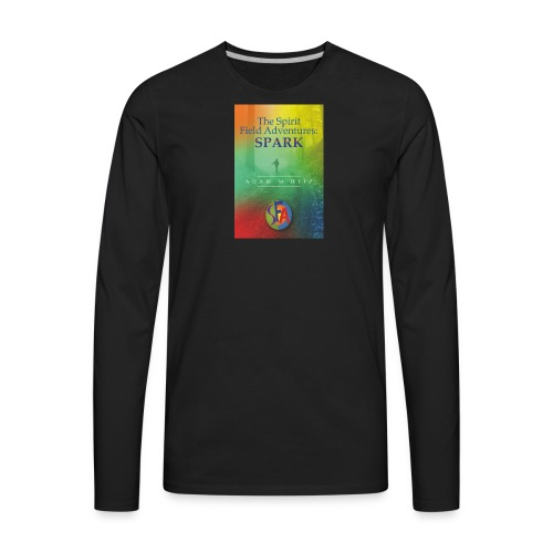 The front cover for The Spirit Field Adventures. - Men's Premium Long Sleeve T-Shirt