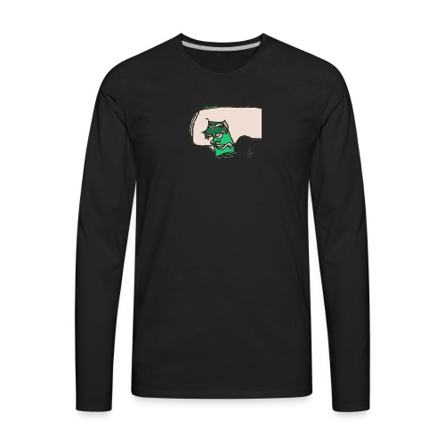 Mom its the day for you to give me money - Men's Premium Long Sleeve T-Shirt