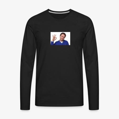 Funny Meme Shirt / Jumper / Accessories - Men's Premium Long Sleeve T-Shirt