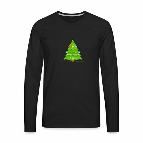 Merry Christmas merchandise (6 Squad) (limited) - Men's Premium Long Sleeve T-Shirt