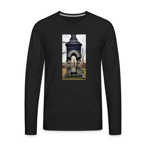through the darkness - Men's Premium Long Sleeve T-Shirt