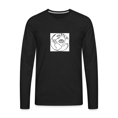 sad world - Men's Premium Long Sleeve T-Shirt