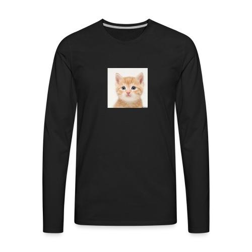 the great cute cat shirt - Men's Premium Long Sleeve T-Shirt